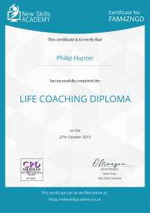CPD Accredited Life Coaching Diploma - Certificate-1