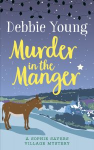 Murder in the manger cover - author Debbie Young