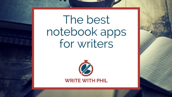 Notebook apps for writers header image