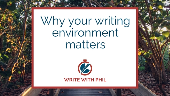 Why your writing environment matters header