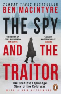 The Spy and the Traitor by Ben Macintyre book cover