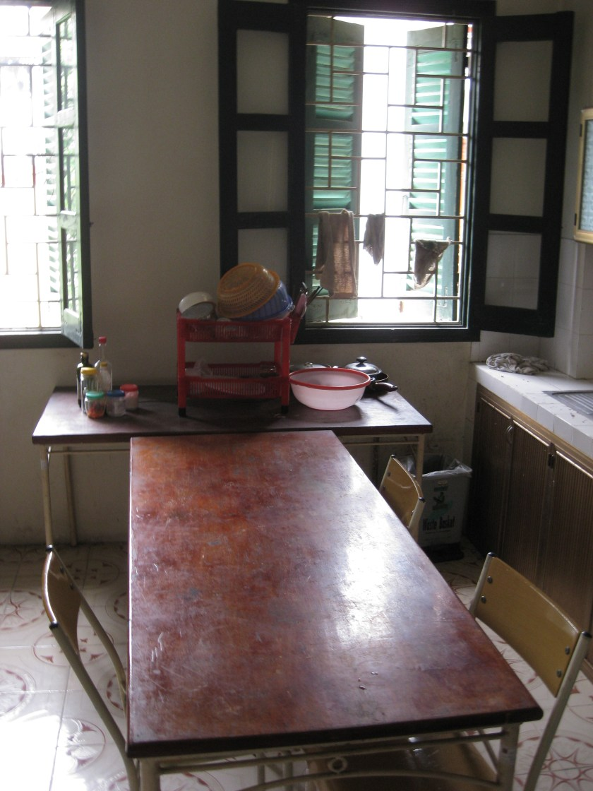 Community Kitchen in the International Teacher's Dorm