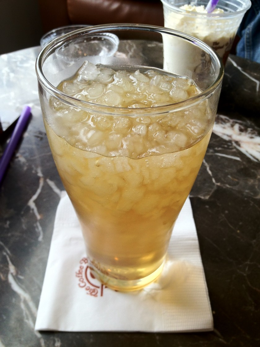 Iced Ginseng Tea