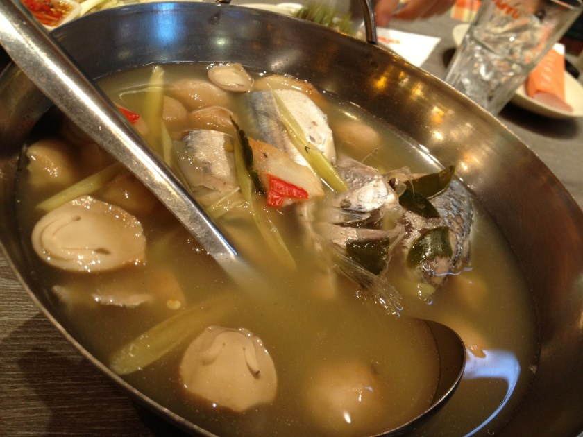 Tom Yum Mackerel