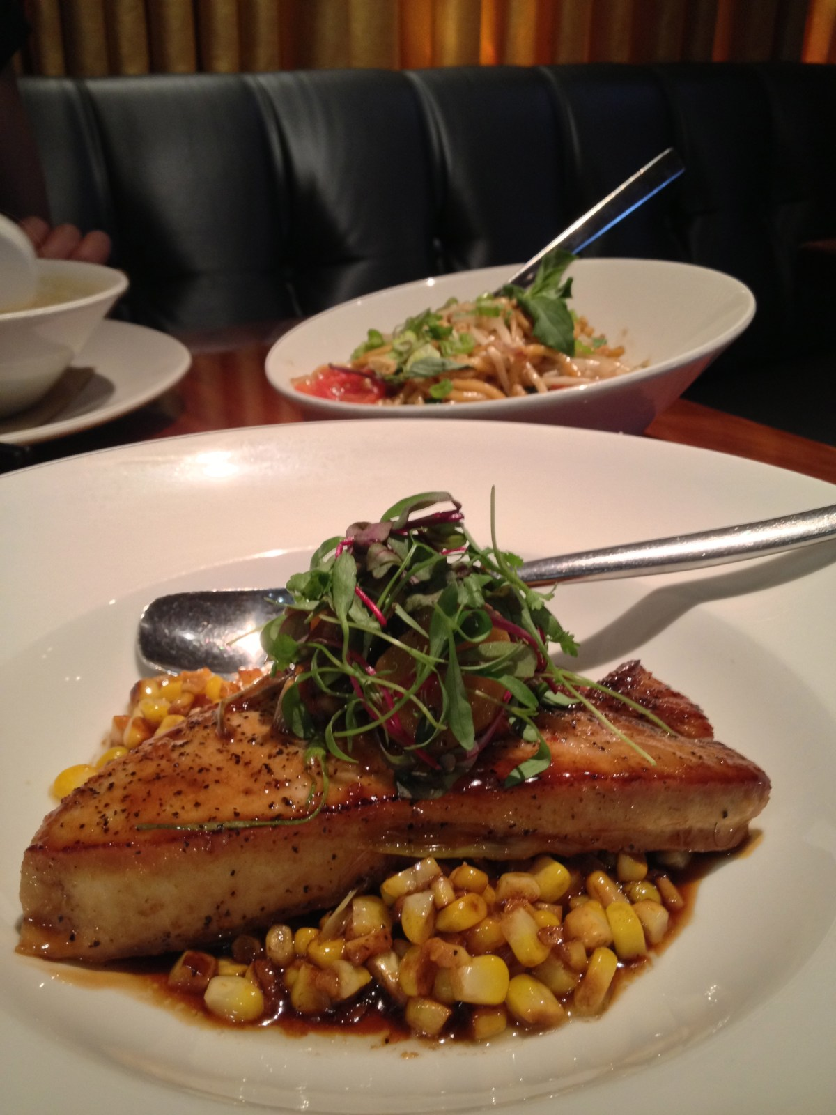 Pan-Seared Swordfish
