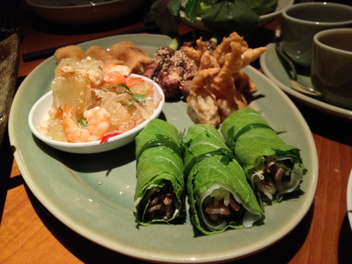 Vietnamese Tasting Platter For Three