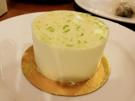 Lime Flavored Cream Cake