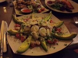 Tiger Prawn and Avocado Salad with Lemon Thyme Vinaigrette