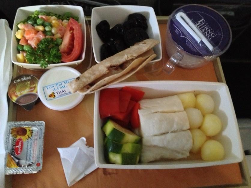 Thai Airways Food