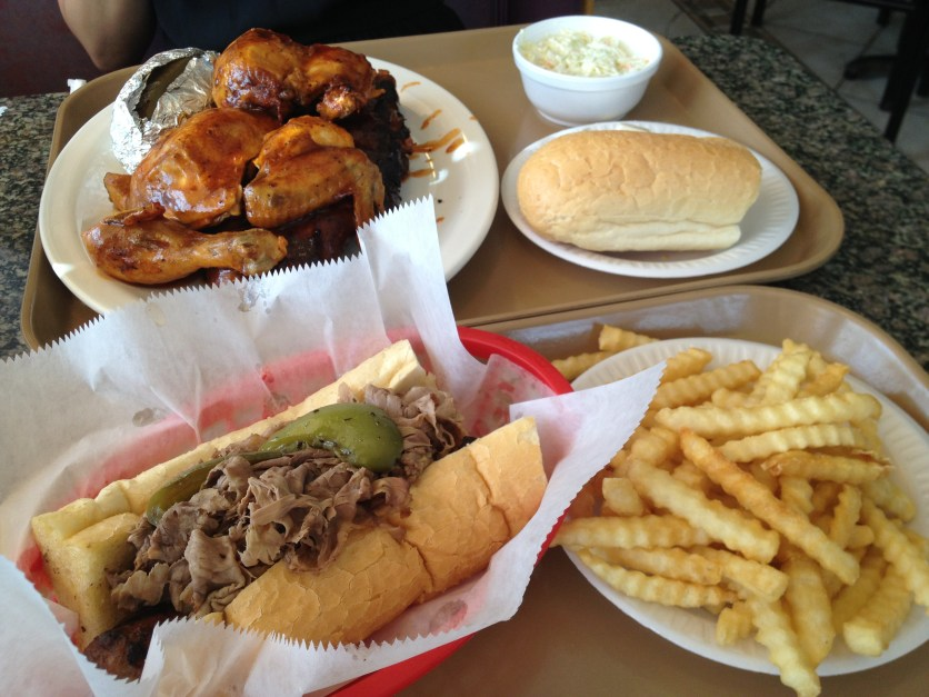 BBQ Lunch At Booby's