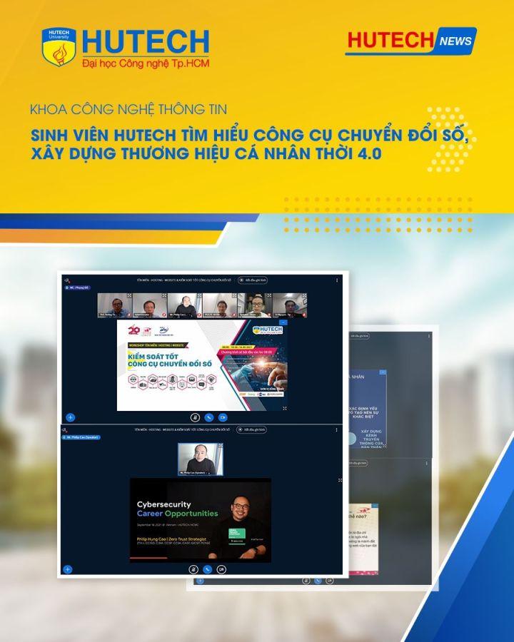 HCMC University of Technology (HUTECH) Workshop by P.A Vietnam – Speaker: Cybersecurity Career Opportunities
