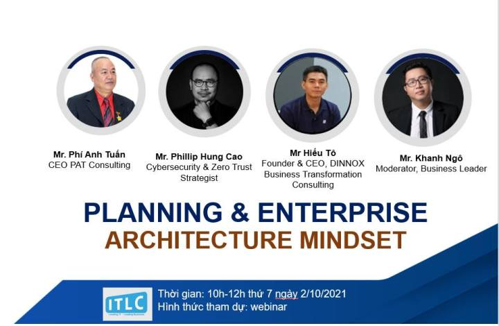 IT Leader Club (ITLC) – Panelist: Planning & Enterprise Architecture Mindset