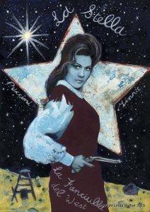 'The Star' Major Arcana from the 'Opera Tarot' by Linda Sutton