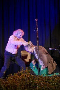 Youth crowned as an Honorary Bard of OBOD in Glastonbury Dec 2016