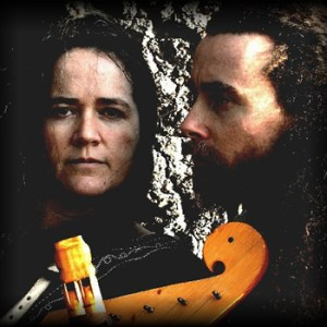 Kate and her musician partner Corwen
