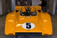 A McLaren M8A (1968) Can Am car driven by Denny Hume