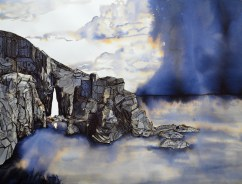 19.Philippa Jones, 'That sea is not silent', Pen and ink, from the exhibition coexist simultaneously 2012