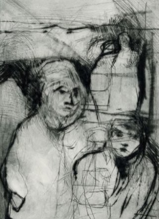 Children – Drypoint