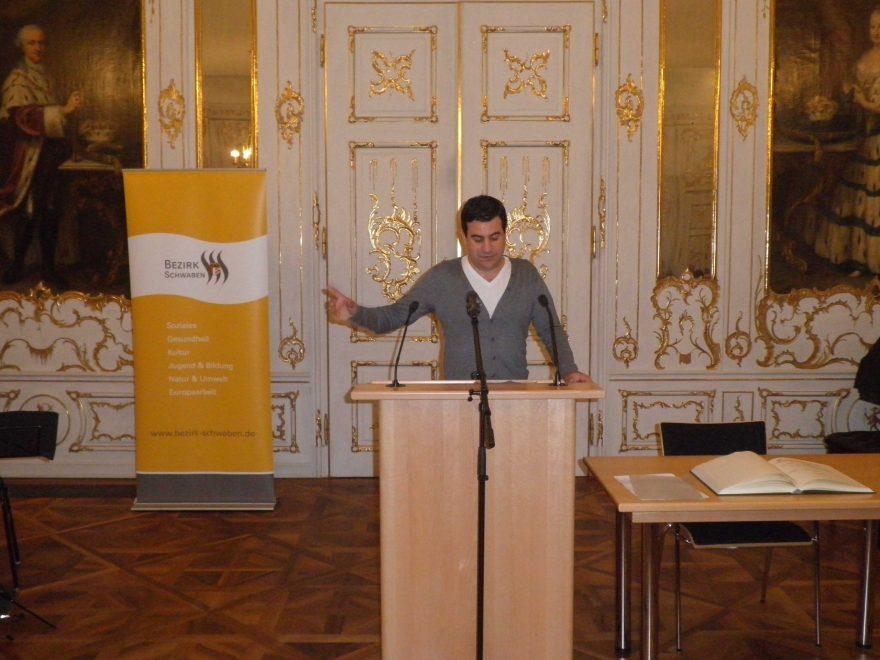 Philipp Brotz Autor Termitenkönigin Augsburg Schwäbischer Literaturpreis