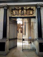 La grilles de la chapelle Ducale