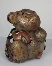 série Buffon - Ours Sans sûr 2 Sculpteur Philippe Buil