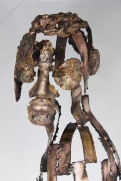 série Cabinet de curiosité - Une nuit sur ton épaule 2 Sculpteur Philippe Buil
