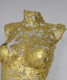 philippe buil sculpteur Belisama or 24 Carats La rose d'Assur 4