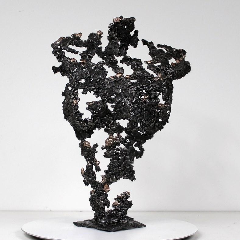 Pavarti Sylvana - Sculpture Philippe Buil - Corps de femme metal