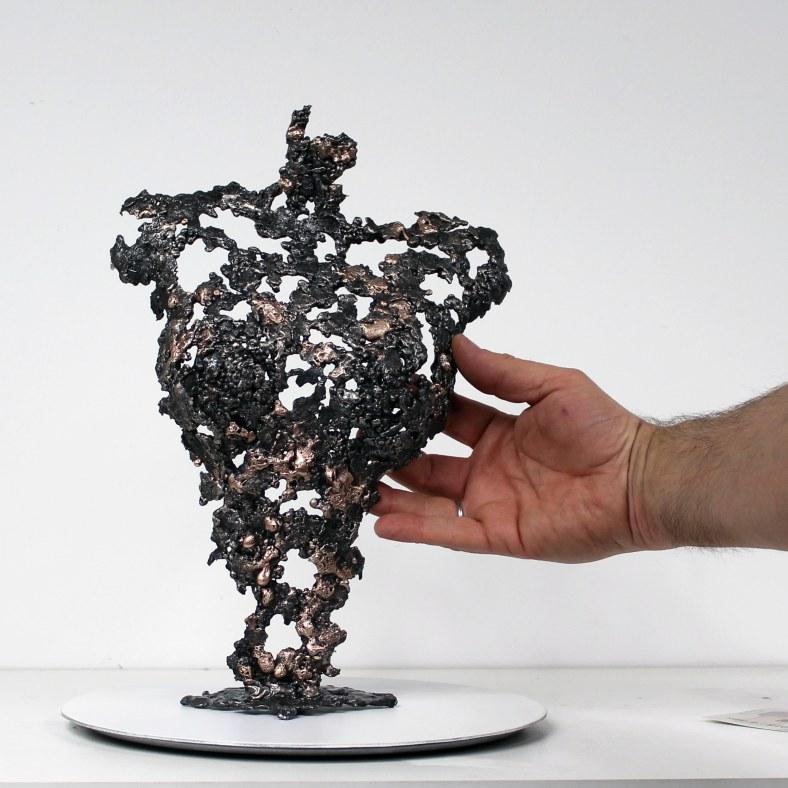 Pavarti Floriana - Sculpture Philippe Buil - Corps de femme meta
