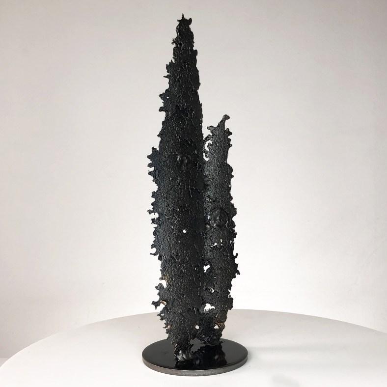 Spirit of surf- Sculpture silouettes en dentelle métal et bronze - Sculpture silouettes in lace metal and bronze
