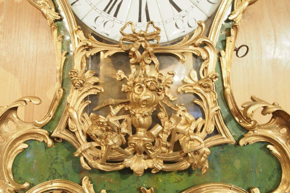 Cartel En Corne Verte Dpoque Louis XV