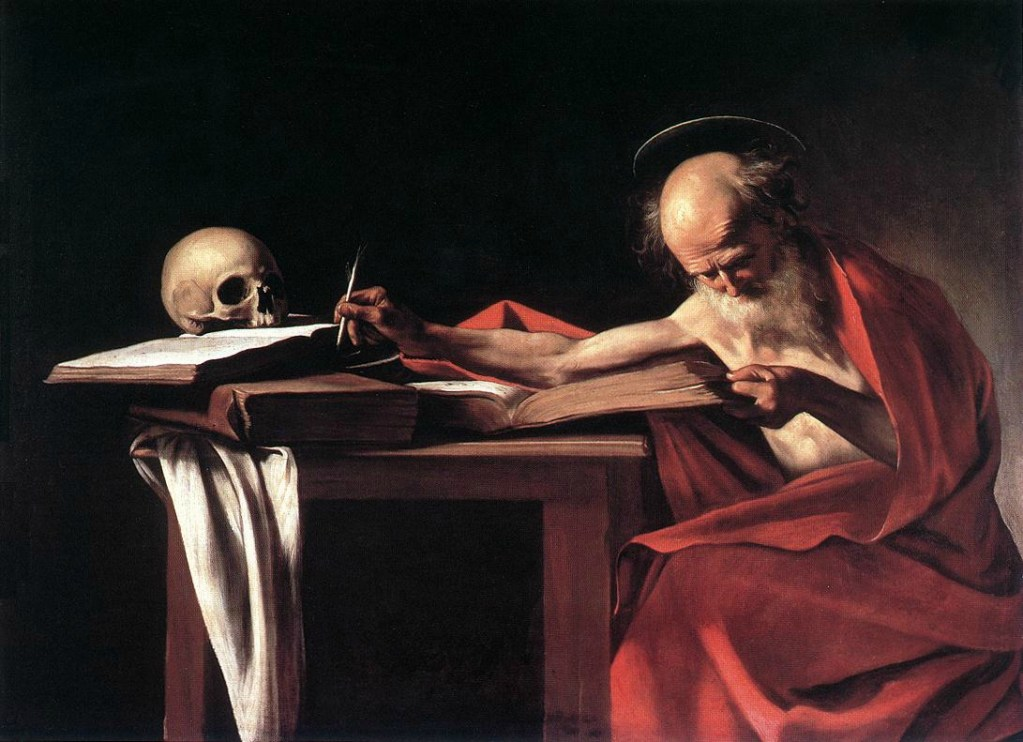 saint_jerome - caravage