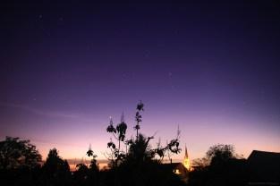 Les cieux violets