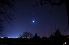 Une nuit pleine d'étoile