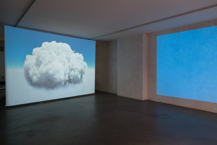 Video-Installation, Clouds of the Second Kind, Philipp Gasser