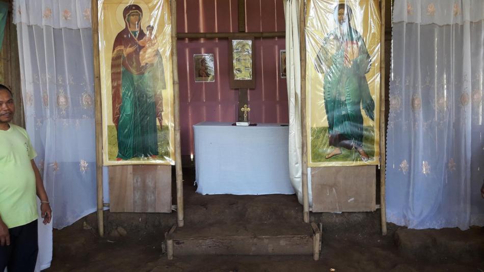Altar at mahongkog