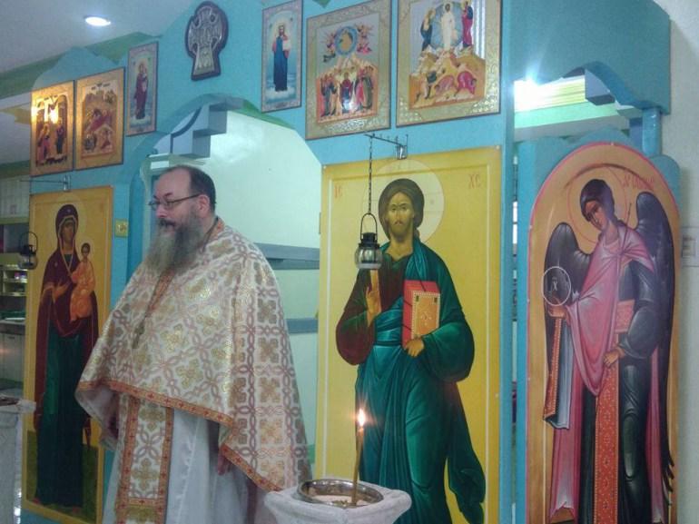 Fr Silouan at Gensan