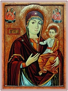 Nicula icon of the Mother of God