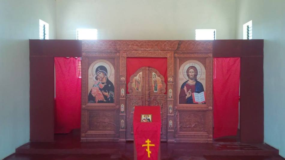 Church of St Elena Iconostas