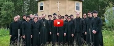Seminarians at Optina
