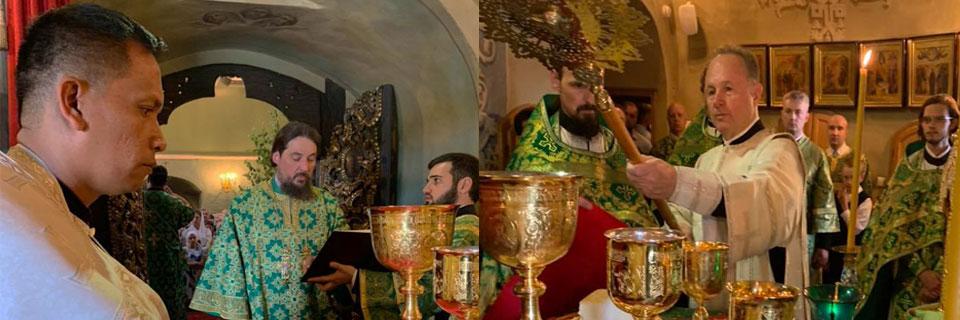 Ordination of Priest Joachim and Deacon David
