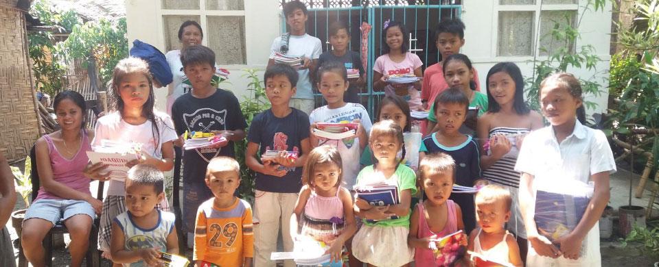 School supplies for St John's kids