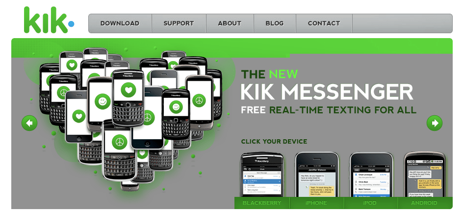 Download kik for blackberry | Kik Messenger 11 12 0 Download