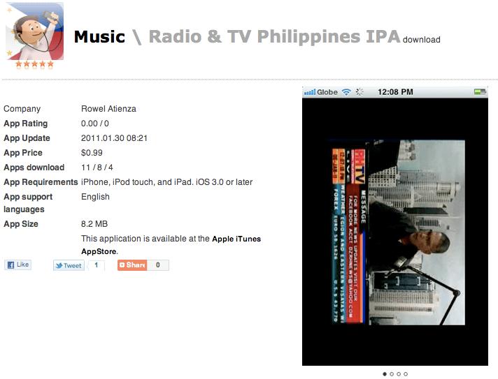 I have radio and TV on my iPad! - The Philippine Beat