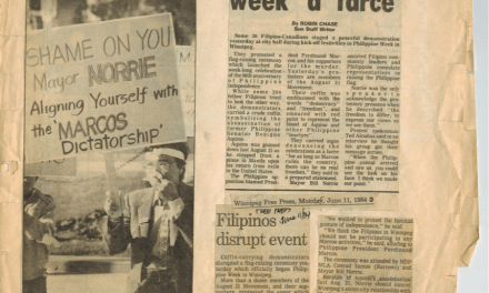 Remembering EDSA : The Canadian connection