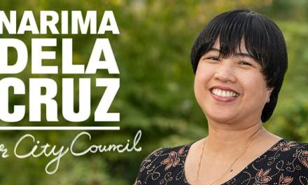 Kaunaunahang konsehal? Narima Dela Cruz poised to be first Filipino Surrey City councillor