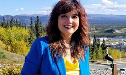 Jocelyn Curteanu seeks third term in Whitehorse