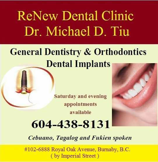 Doctor Michael Tiu Burnaby Dentist