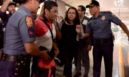Breaking: Rappler's Maria Reesa arrested anew