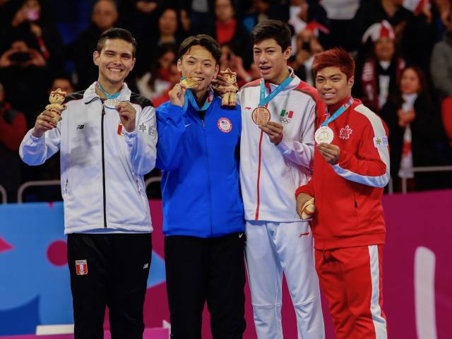 AJ Assadian wins two medals for Canada at Lima, Peru